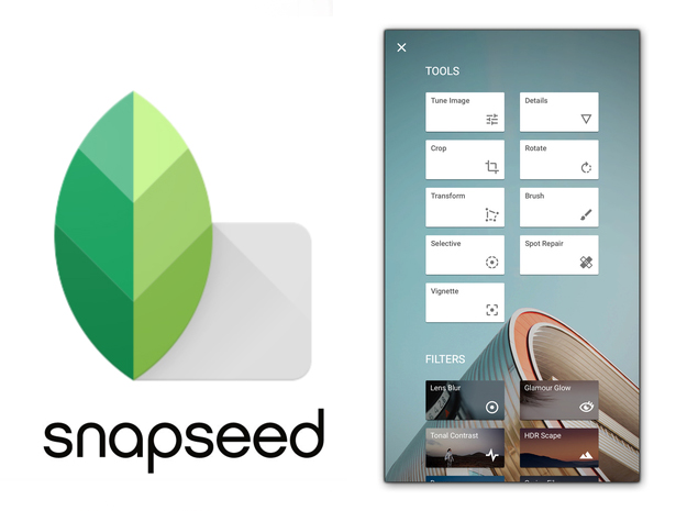 snapseed - best photo editing apps