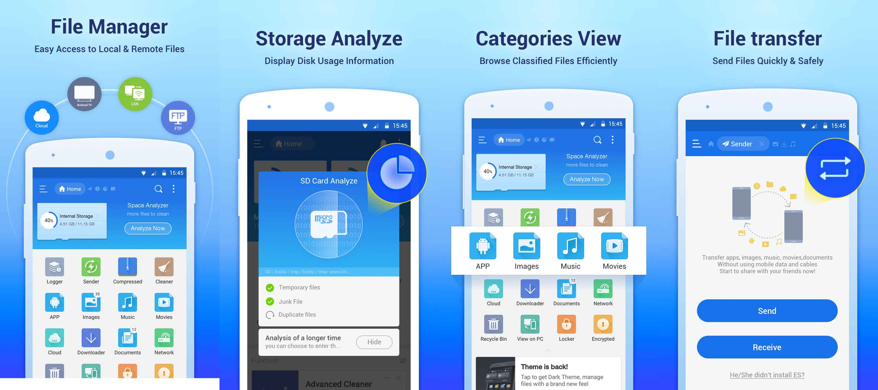 5 Best File manager apps for Android alternatives of ES File