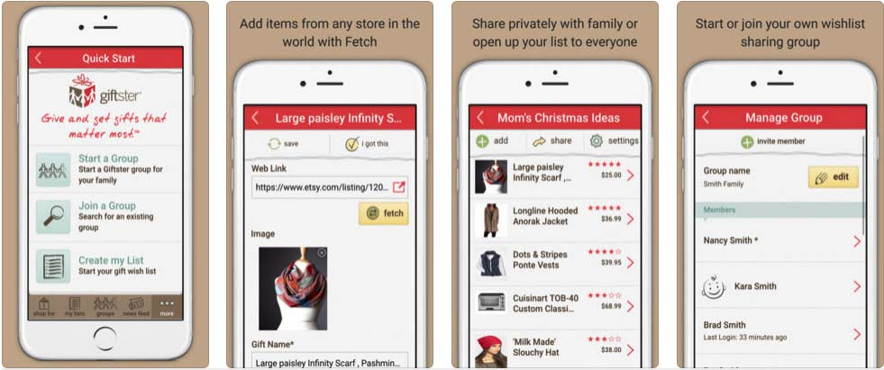 giftster-app-screenshot