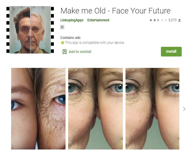 How you will look in the future