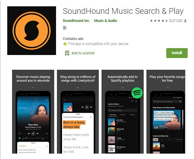 soundhound for computer