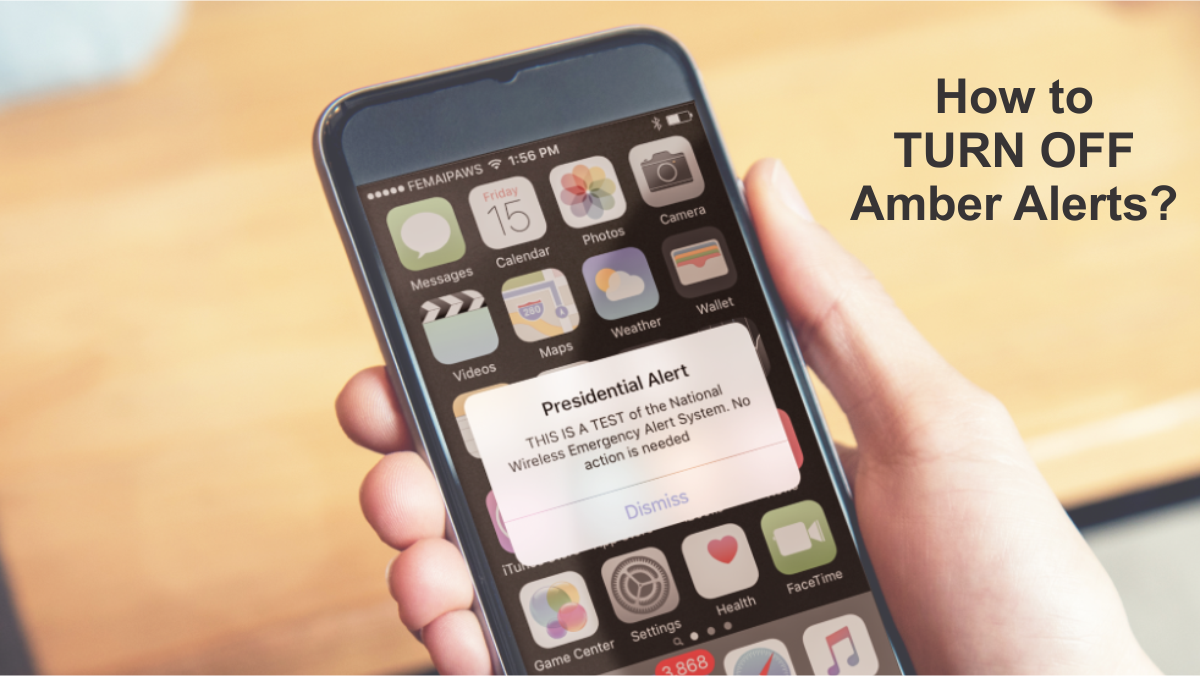 how to turn off amber alerts