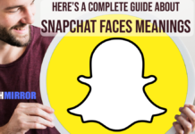 snapchat face meanings
