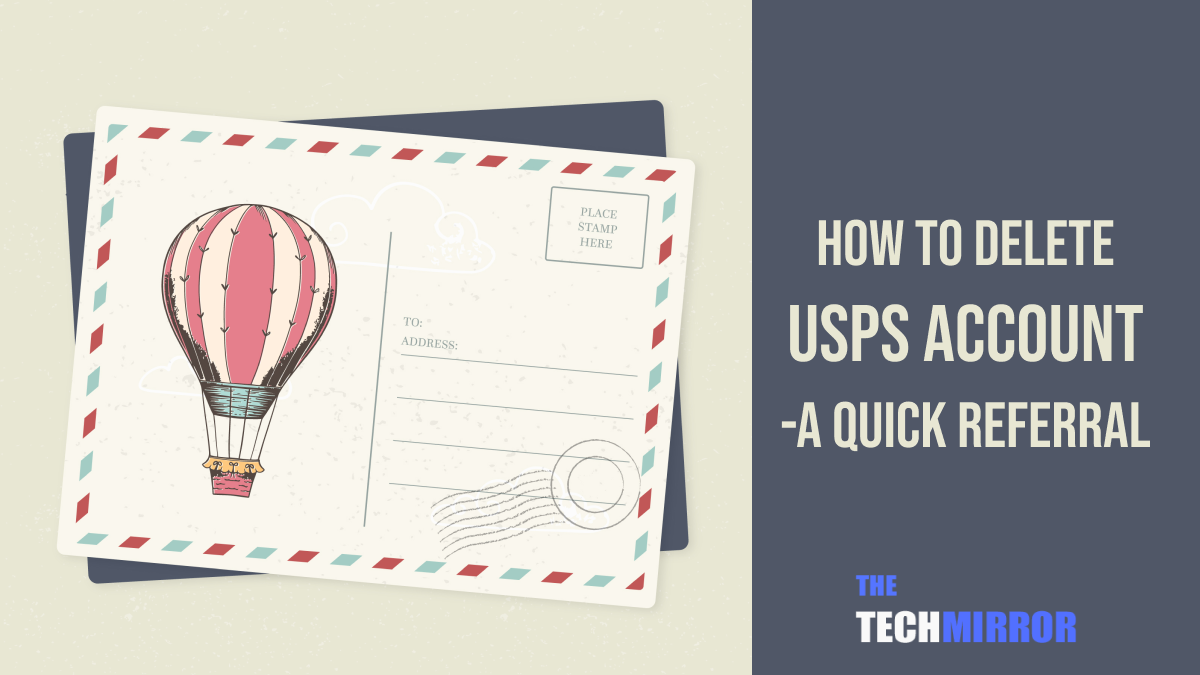 How to Delete USPS Account