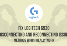 Logitech G930 Disconnecting and Reconnecting